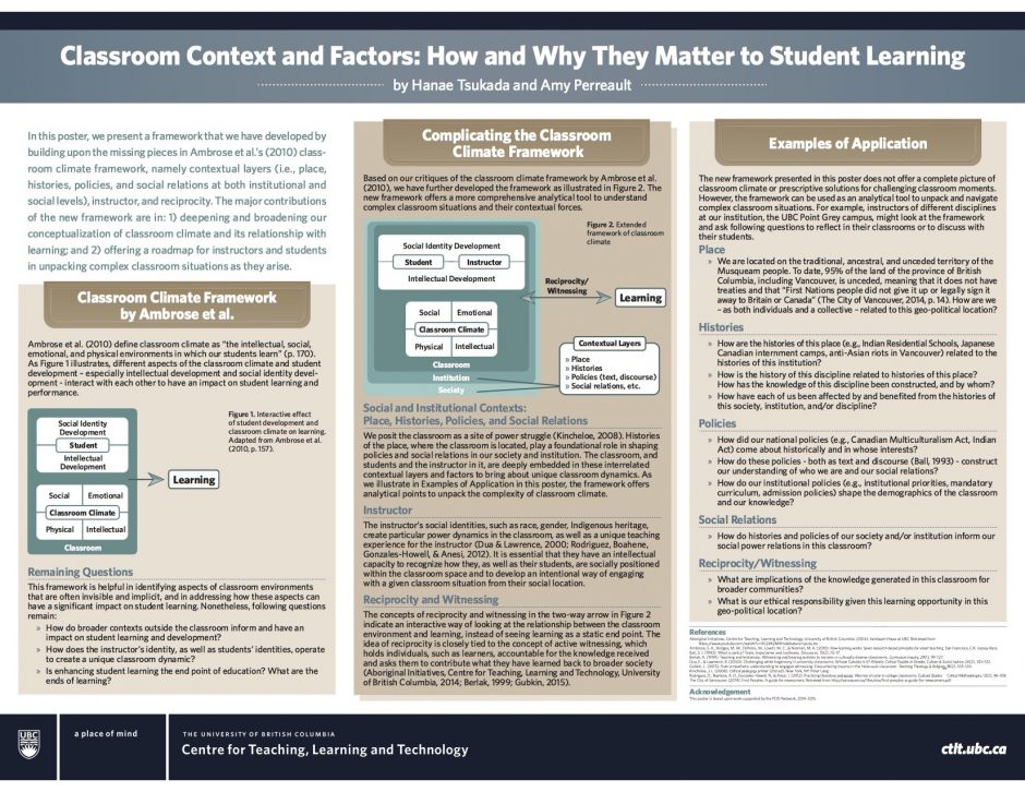 contextual factors of the classroom Motivational teacher strategies: the role of beliefs and contextual factors  the present study explored how teachers' personal beliefs and contextual factors relate to their self-reported autonomy-supportive or controlling motivational strategies  teacher expectations, classroom context, and the achievement gap journal of school.