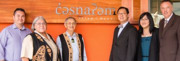 The naming ceremony for c̓əsnaʔəm House at Totem Park Residence: Q&A with Sarah Ling